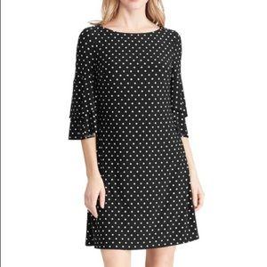 🆕Lauren Ralph Lauren Polka Dot RuffleSleeve Dress